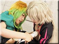 レズのしんぴ・Battle of lesbian〜ゆりあちゃんとめいちゃん〜3・ゆりあ めい