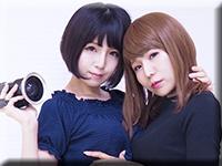 レズのしんぴ・自画撮りレズビアン〜あんなちゃんとかなちゃん〜1・あんな かな