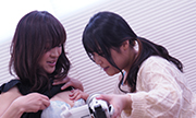 Self-cam lesbian: for my boy friend Arisa Mayu 5