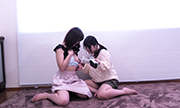 Self-cam lesbian: for my boy friend Arisa Mayu 7