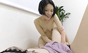 The woman masturbation with expressionless Kana Fumika 19