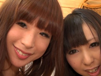 レズのしんぴ・自画撮りレズビアン〜まゆちゃんちみくちゃん〜(前)・まゆ みく