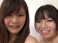 レズのしんぴ・自画撮りレズビアン〜みおちゃんとゆまちゃん〜(後)・みお ゆま