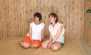 自画撮りレズビアン〜あおいちゃんとみさきちゃん〜(前)...thumbnai1