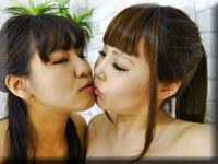 レズのしんぴ・自画撮りレズビアン〜りおんちゃんとみゆきちゃん〜(前)・りおん みゆき