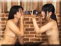 レズのしんぴ・自画撮りレズミッション〜すみれちゃんとかえでちゃん〜2・すみれ かえで