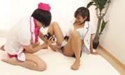 Self-cam Lesbian show Miho Wakabayashi Satomi 20
