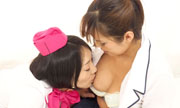 Self-cam Lesbian show Miho Wakabayashi Satomi 29