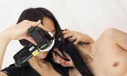 Self-cam Lesbian show Miho Wakabayashi Nanako 32